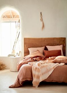 Your bedroom is a personal oasis. Populate it with unique bedroom furniture from headboards to dressers. Shop Anthropologie for your next treasure. Room Ideas Bedroom, Bedroom Inspo, Dream Bedroom, Home Bedroom, Bedroom Decor, Airy Bedroom, Fall Bedroom, Cottage Bedrooms, Bedroom Designs