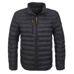 The Mens Scotia Light Down Jacket Is A Polyester Jacket Lined With Feather And Down Feather. Includes A Chin Cover And Pockets With Zip Closures. Zip Puller, Downlights, Feathers, Cuffs, Winter Jackets, Pockets, Logo, Cover, Fit