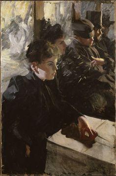 Anders Zorn, Omnibus, 1892 on ArtStack #anders-zorn #art