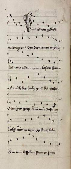 Hugo <von Montfort>   Lieder, Briefe und Reden Steiermark, 1414/1415 Cod. Pal. germ. 329 Folio 48v