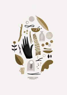Fauna Art Print by Clare Owen at King & McGaw