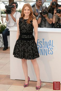 Absolutely diffing this print - Jessica-Chastain-Elie-Saab-Alexander-McQueen-Dolce-Gabbana-Cannes-2014-Tom-Lorenzo-Site-TLO (4)