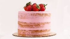 """The """"Cake Boss"""" Shows You How Easy It Is to Make This Pretty """"Naked"""" Cake"""