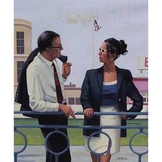 Jack Vettriano The Smooth Operator