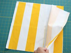 Nothing to add for closure…love! DIY: Simple Envelope Pillow