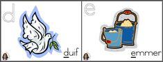 Muurkaarte ABC alfabetklanke Toddler Activities, Screen Shot, Printables, Teaching, Afrikaans, Writing, Education, Disney Characters, Print Templates