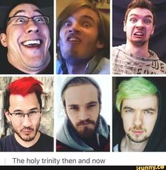 Trilogy of YouTubers.