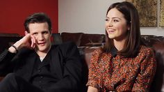Day 24 in the Adventure Calendar 2012: Matt Smith and Jenna-Louise Coleman on The Snowmen [video]