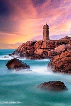 Ploumanac'h Lighthouse by Jessica Giordano on 500px