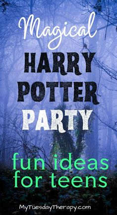 Harry Potter party ideas! Cool ideas for a unique Harry Potter party for teens. Harry Potter party games and activities. Fun Halloween party theme. Easy Party Games, Birthday Party Games For Kids, Halloween Party Themes, Teen Birthday, Birthday Party Themes, Halloween Ideas, Harry Potter Party Games, Harry Potter Activities, Harry Potter Birthday