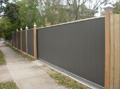 Mini orb feature fence with automated gate. - Rob's Fences