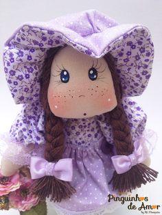 Boneca na Xícara Coleção Florista https://www.facebook.com/ateliepinguinhosdeamor/