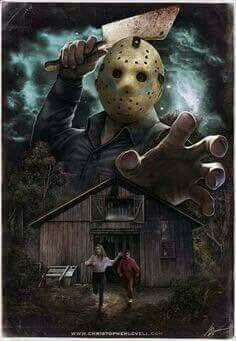 ~Friday The ~Jason Voorhees ~Classic Horror Movie ~Camp Crystal Lake ~ Posters Geek, Horror Icons, Horror Movie Posters, Jason Voorhees, Classic Horror Movies, Iconic Movies, Horror Artwork, Horror Movie Characters, Kino Film