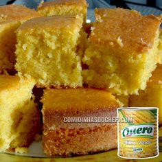 Aprenda agora mesmo como fazer bolo de milho de lata com fubá fofinho com uma receita simples de fazer e só usando ingredientes econômicos.