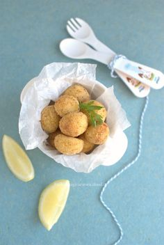Polpette di merluzzo e patate Wok, Good Food, Yummy Food, Best Italian Recipes, Recipe Boards, Daily Meals, Meals For One, Baby Food Recipes, Finger Foods