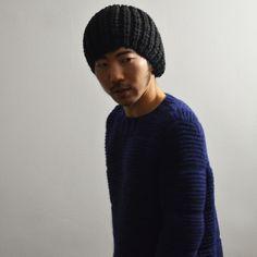 hayato in padded pullover