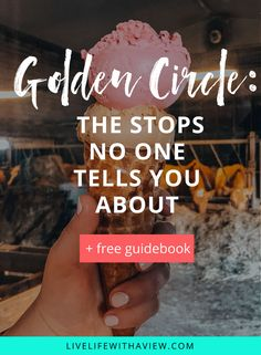 stops on golden circle iceland