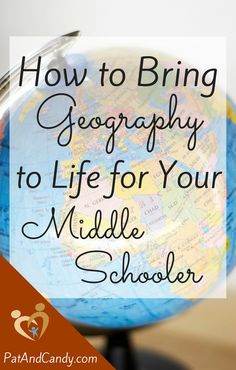 "Although my kids are all avid readers, there's something about the hands-on and multi-sensory approaches and applications to ""real life"" of this subject that goes beyond books. There is a myriad of ways to teach geography, and an equal amount of fun, interesting and practical ways to apply it."