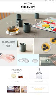 Whisky Stones - Grid Theme by Pixel Union