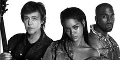 Rihanna Releases New Song Featuring Kanye West & Paul McCartney  - HarpersBAZAAR.com