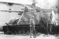 2. SS-Panzer-Division « Das Reich », détruit dans la poche de Roncey fin juillet 1944.