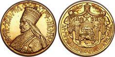 haile selassie pictures | ... : Ethiopia Haile Selassie gold Coronation Medal EE1923 (1930