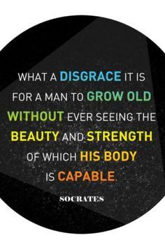 Socrates. True words!