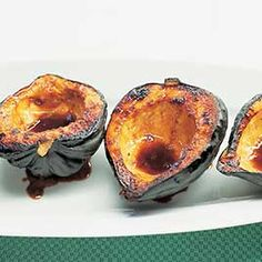How do we get our Acorn Squash with Brown Sugar supremely tender? Believe it or not, microwaving the squash for twenty minutes proved the best cooking method.
