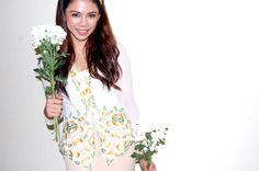 Kekwa & Kawan Kebaya, Floral Tops, Women, Fashion, Moda, Top Flowers, Fashion Styles, Fashion Illustrations, Kebaya Muslim