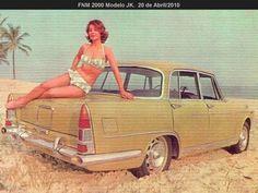 FNM Alfa Romeo 2000 JK - Brasil - brochure