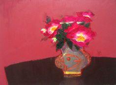 갤러리소헌 Still Life Painting, Watercolor Art, Flower Painting, Drawings, Floral Art, Still Life, Oil Painting, Art, Pastel Artwork