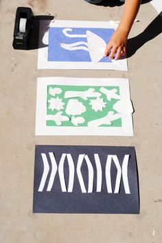 Kids Craft: Sun Prints