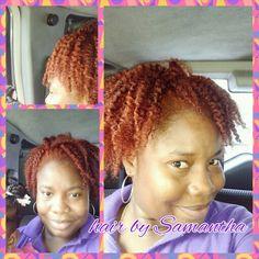 #redheadednatural #redhairdoescare #naturalnproud #growingnatural #allnatural