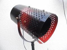 Stehlampe fürs Loft - Studiolampe Industrial von Gerne Wieder.GbR auf DaWanda.com