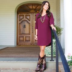 Cowboy Boots + Dresses = Why They Should be Your BFF