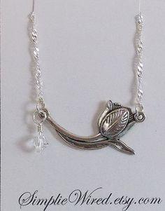 Birthstone Tulip Jewelry Tulip Pendant Tulip by SimplieWired $15