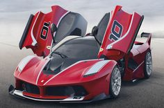 #Ferrari presents its ultimate track toy at the Finali Mondiali event at the grand prix circuit in Abu Dhabi.