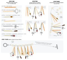 Fringe bracelet tutorial DIY instructions YSL knockoff charm bracelet