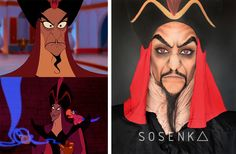 Jafar's makeup (Aladdin) by me (facebook.com/sosenka.official)