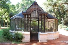 Dream Greenhouse. (Okay so it has design elements similar to Arkham Asylum's greenhouse)