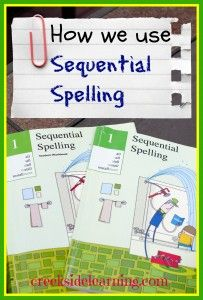 How We Use Sequential Spelling