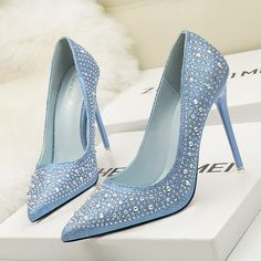 There is always many products on sae upto - Women Pumps Bling High Heels Shoes Pointed Female Shoes Glitter Woman Shoes Sexy Wedding Shoes Gold Silver Chaussure Femme - Pro Shopperz Pointed Toe Pumps, High Heel Pumps, Women's Pumps, Stilettos, Stiletto Heels, Platform Pumps, Sexy Wedding Shoes, Rhinestone Wedding Shoes, Silver Rhinestone