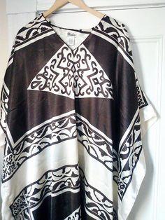 Vintage Winlar Caftan Dress/ Free Size/ by JulesCristenVintage, $45.00