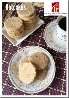 Oatcakes or Oatmeal Biscuits (燕麦饼干) #guaishushu #kenneth_goh #oatcakes