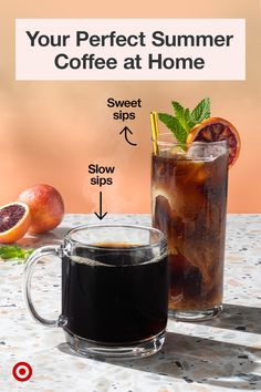 Coffee Liqueur Recipe, Coffee Drink Recipes, Alcohol Drink Recipes, Coffee Drinks, Summer Drinks, Cold Drinks, Alcoholic Drinks, Beverages, Cocktails