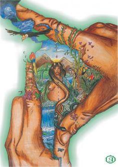 """LSD nos trae su obra """"Pachamama""""..  Agradecemos al autor por compartir!!"""