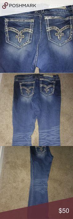 Rock Revival women's jeans Rock Revival women's jeans. EUC. MID RISE, CURVY BOOT = COMFORTABLE FIT. Rock Revival Jeans Boot Cut