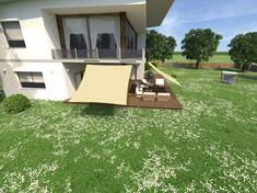 Sonnensegel für Terrasse, Balkon, Haus und Garten Balcony House, Solar Shades, Home And Garden