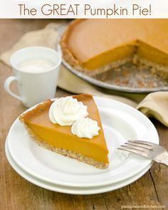 NEW!+Pumpkin+Pie!+(vegan,+soy-free,+gluten-free)