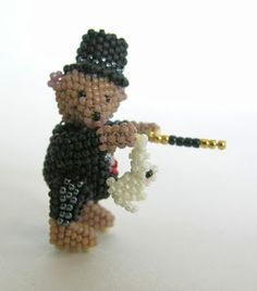 Idele Gilbert Miniature Beaded Bears and Other Animals